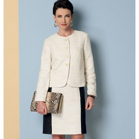 patron veste, robe, jupe, pantalon Butterick B6332
