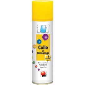 COLLE TEMPORAIRE DE DECOUPAGE 250 ML
