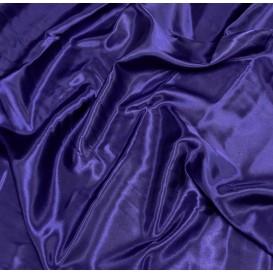 tissu satin bleu majorelle largeur 140cm x 50cm