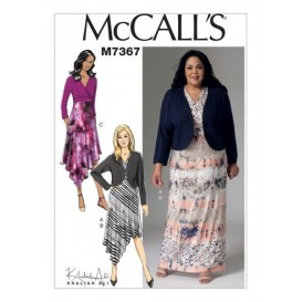 patron boléro et robes McCall's M7367