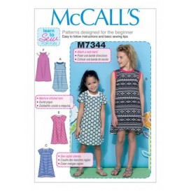 patron enfant robes McCall's M7344