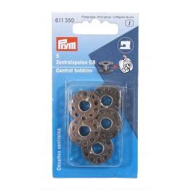 5 canettes métal pour boîtier centrale 20,5mm