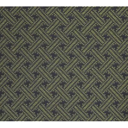 tissu ameublement capri noir/olive largeur 150cm x 50cm