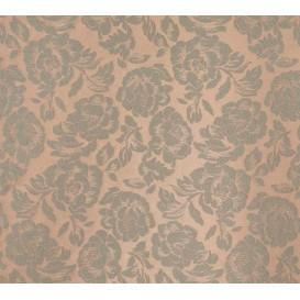tissu ameublement martinique brun largeur 150cm x 50cm