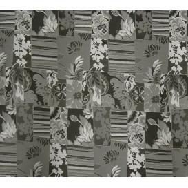 tissu ameublement guadalupe noir largeur 150cm x 50cm n°2