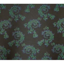 tissu ameublement vivaldi noir largeur 150cm x 50cm