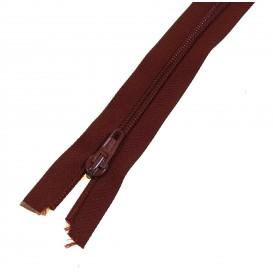 fermetures à glissières injectée maille 10 rouge