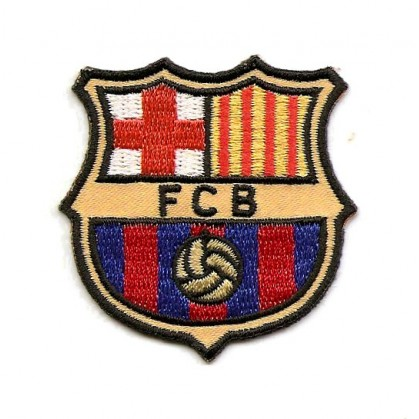 cusson foot fcb barcelona thermocollant - Ecusson De Foot