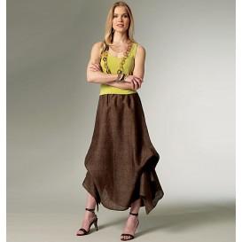 patron jupe et pantalon Vogue V9114