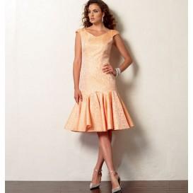 patron robe doublée Vogue V8948