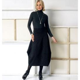 patron jupe à élastique Vogue V9060