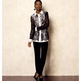 patron chemise ample Vogue V8927