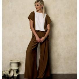 patron haut, jupe et pantalon Vogue V9838