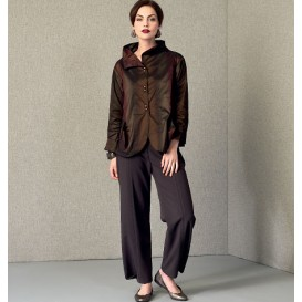 patron veste et pantalon Vogue V9035