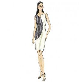 patron haut, robe et pantalon Vogue V9079