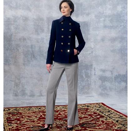 patron veste et pantalon Vogue V1467