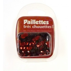 PAILLETTES 15 GRS ROUGE