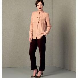 patron haut et pantalon Vogue V1414