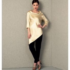patron tunique et pantalon Vogue V1415