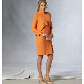 patron veste et robe Vogue V1435