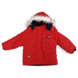 blouson capuche bébé rouge 6mois