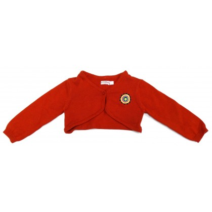 bolero rouge 9mois