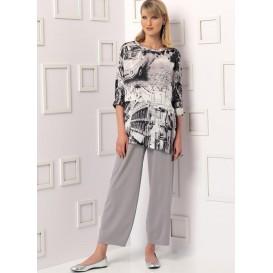 patron tunique et pantalon Vogue V9193