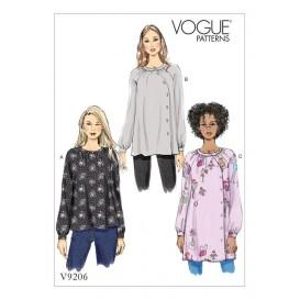 patron haut et tunique Vogue V9206