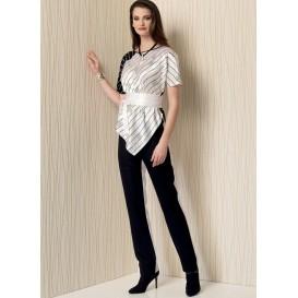 patron haut, pantalon et ceinture Vogue V1508
