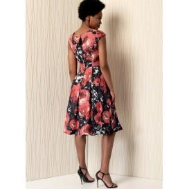 patron robe doublée Vogue V1497