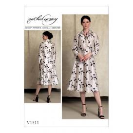 patron robe Vogue V1511