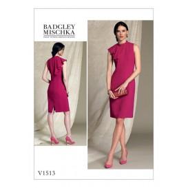 patron robe ajustée Vogue V1513