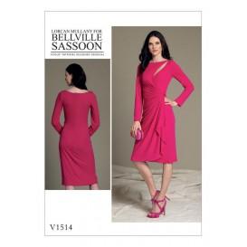 patron robe très moulante Vogue V1514