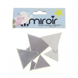 8 MIROIRS ADHESIFS TRIANGLES