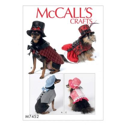 patron déguisements pour animal McCall's M7452