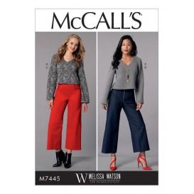 patron haut et pantalon McCall's M7445