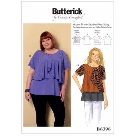 patron haut ample Butterick B6396