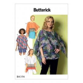 patron tunique ample Butterick B6356