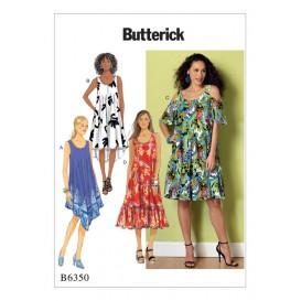patron robe évasée Butterick B6350