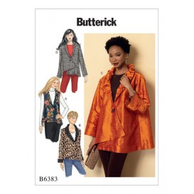 patron gilet et veste Butterick B6383