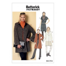 patron manteau ample Butterick B6394