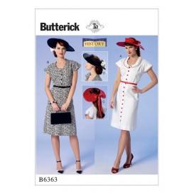 patron robe déguisement Butterick B6363