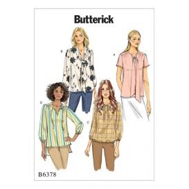patron haut et tunique Butterick B6378