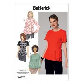 patron chemisier Butterick B6375