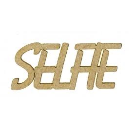 mot en bois selfie