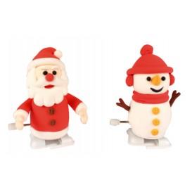 kit créapito papa noël et bonhomme de neige