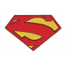 écusson symbole superman thermocollant