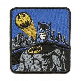 écusson batman carré thermocollant n°2