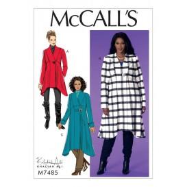patron manteaux amples McCall's M7485