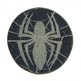 écusson spider-man araignée jeans thermocollant